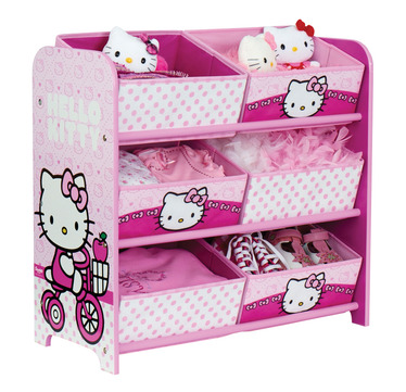 cute hello kitty bedroom ideas you can t have a themed room without some storage and this 6 bin storage block
