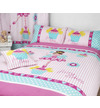 Girls Double Bedding - Fairies