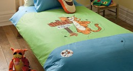 Tigger Childrens Embroidered Bedding
