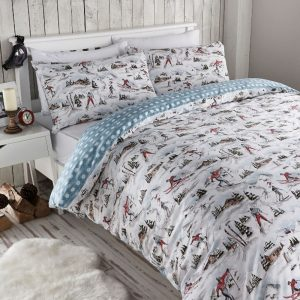 Alpine Ski bedding