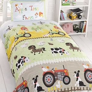 Apple Tree Farm Toddler Bedding