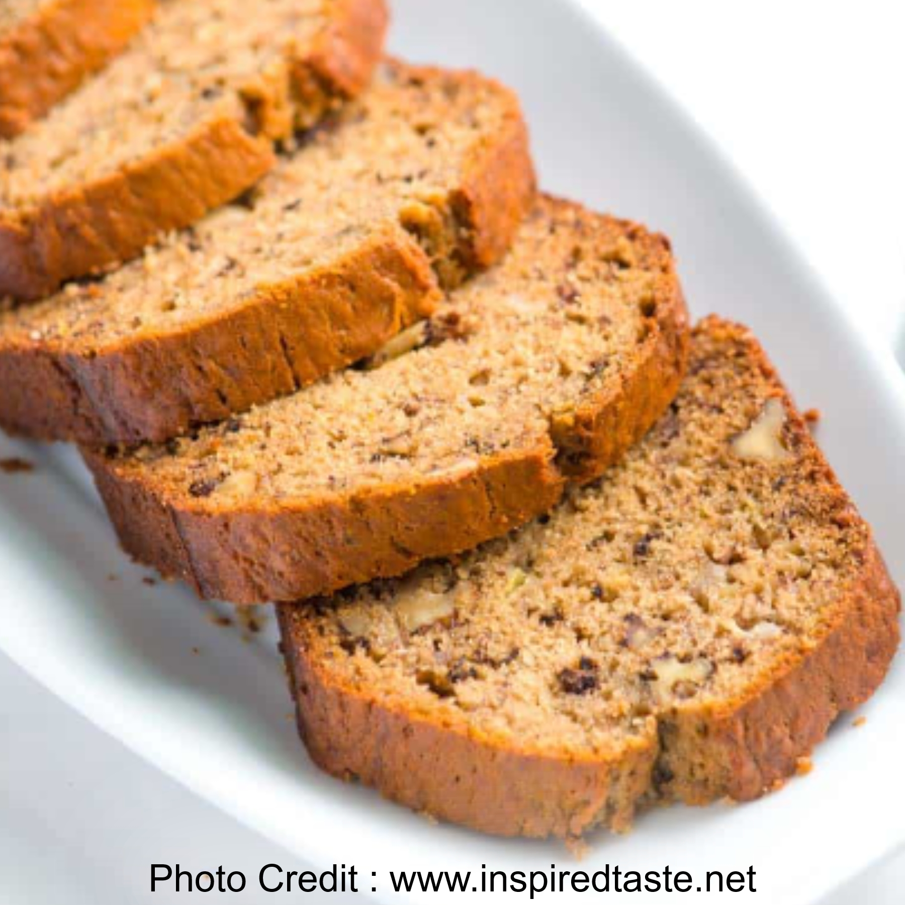 Banana Bread from Inspired Taste