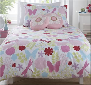 Bella Girl's Single Bedding