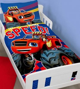 Blaze Toddler Bedding