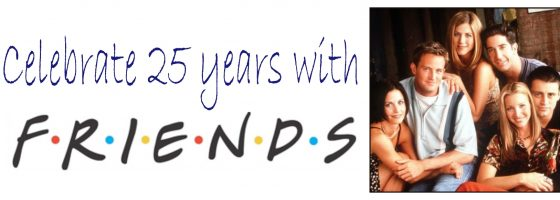 Friends ... The One With The 25th Anniversary Bedding Launch