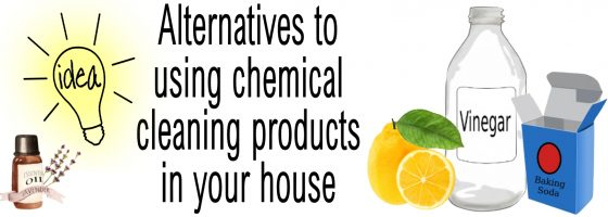 Alternatives to chemical cleaning products
