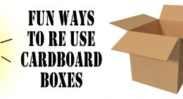 Fun Ways To Reuse Cardboard Boxes