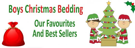 Boys Christmas Bedding Our Favourites & Best Sellers