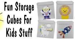 Fun Storage Cubes For Kids Stuff