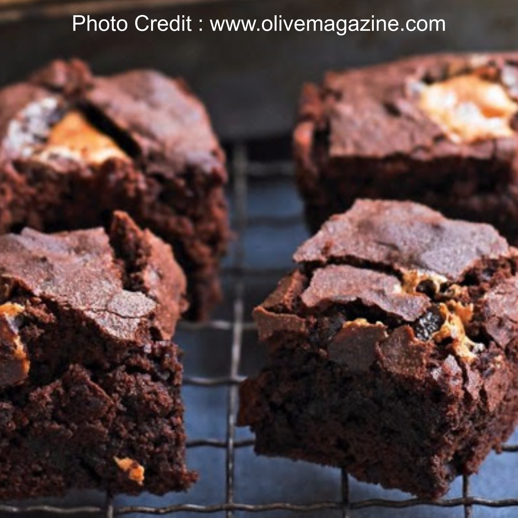 Brownies from Olive Magazine