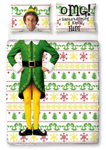 Buddy the Elf Double Duvet, with Will Farrell