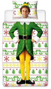 Buddy The Elf single bedding with Will Farrell