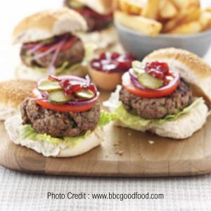 Homemade Burgers from BBC Good Food