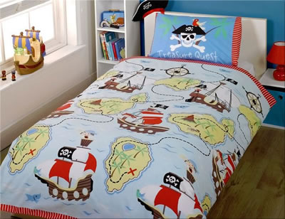 Pirate Bedding And Themed Bedroom Accessories