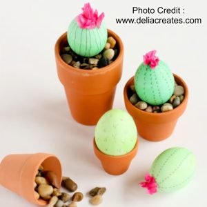 Cactus Eggs from Delia Creates