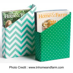 Cereal Box Magazine Holder from Tennessee Home And Farm