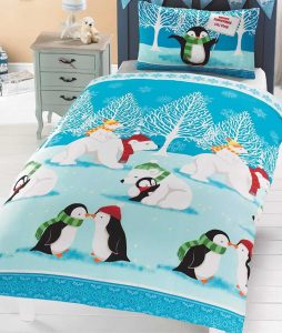 Christmas Cuddles Single Bedding