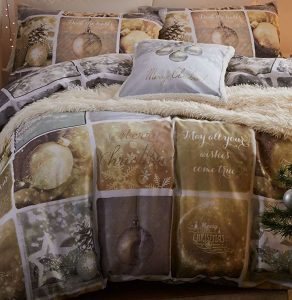 Christmas Greetings Double Duvet