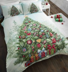 Christmas Tree Single Bedding