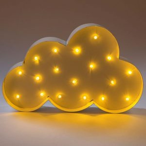 Cloud LED wall light