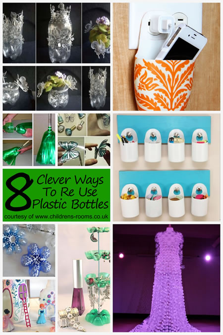 8 Clever Ways To Re Use Plastic Bottles