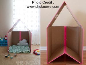 Collapsible Play House from She Knows