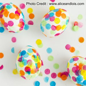 Confetti Eggs from Alice And Lois