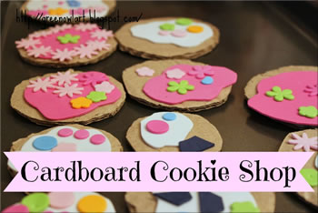 Cardboard Cookies / Biscuits