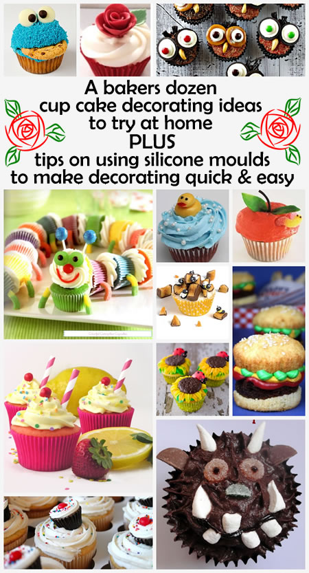 12 Eye Catching Cup Cake Designs To Try At Home