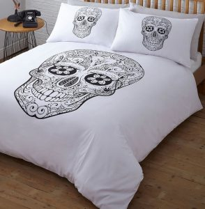 Day Of the dead double bedding