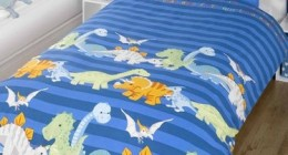 Dinosaur bed set