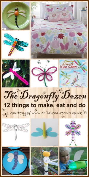 The Dragonfly Dozen - 12 things to do, make and eat