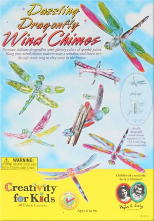 Dragonfly Wind Charm Kit