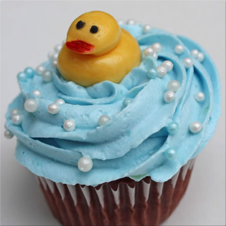 Rubber Ducks Cupcakes