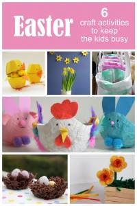 6 Easter Crafts To Keep Kids Busy During The School Holidays