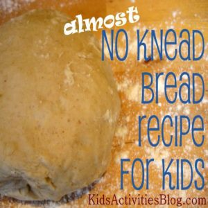 Easy Bread from Kids Activity Blog