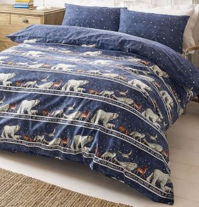 Emma Bridgewater winter animals bedding