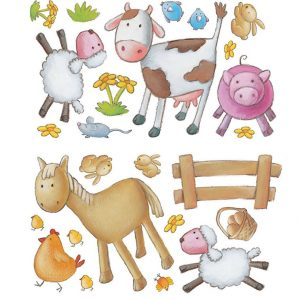 Farm wall stickers