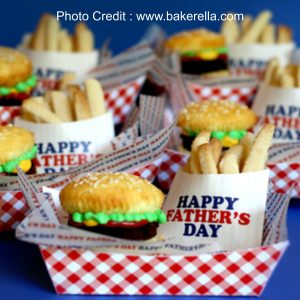 Fast Food Cupcakes from Bakerella