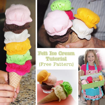 Felt Icecream
