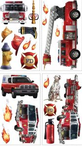 Fire Engine wall stickers