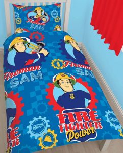Fireman Sam Workshop Single Bedding