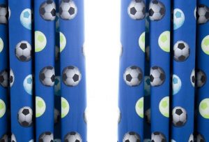 Kids Football Curtains