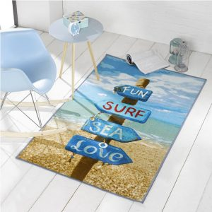Fun, Surf, Sea rug