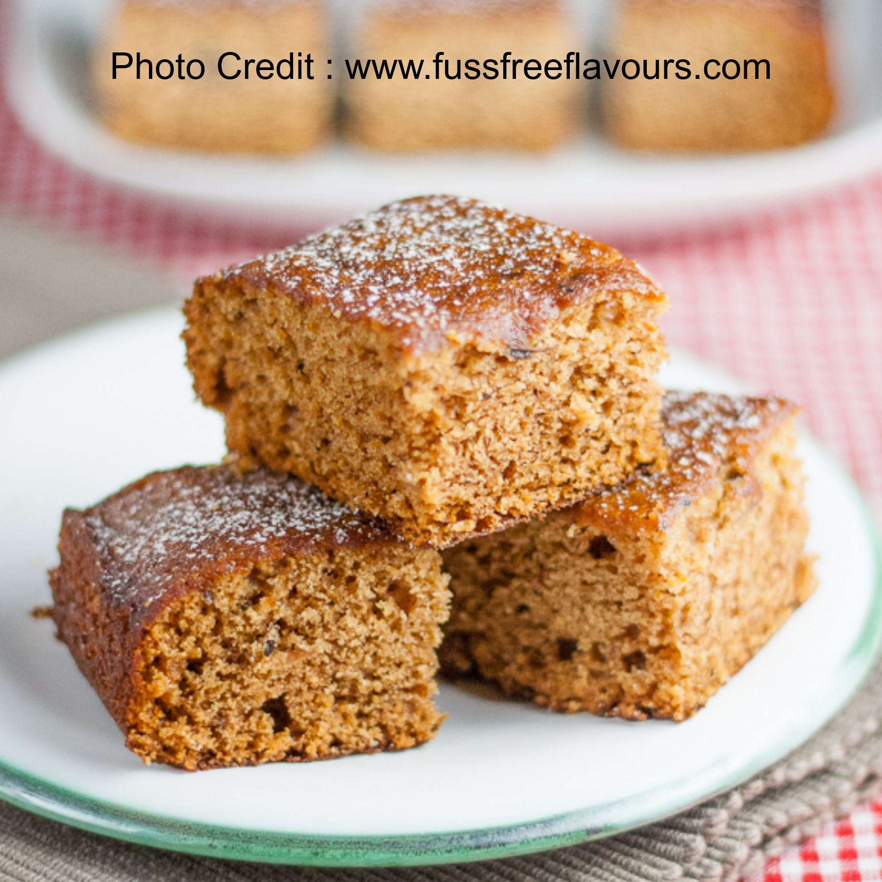 Ginger Cake from Fuss Free Flavours (Dairy Free, Vegan and Egg Free)