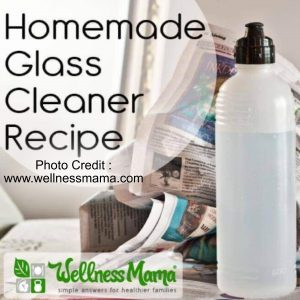 Glass Cleaner from Wellness Mama
