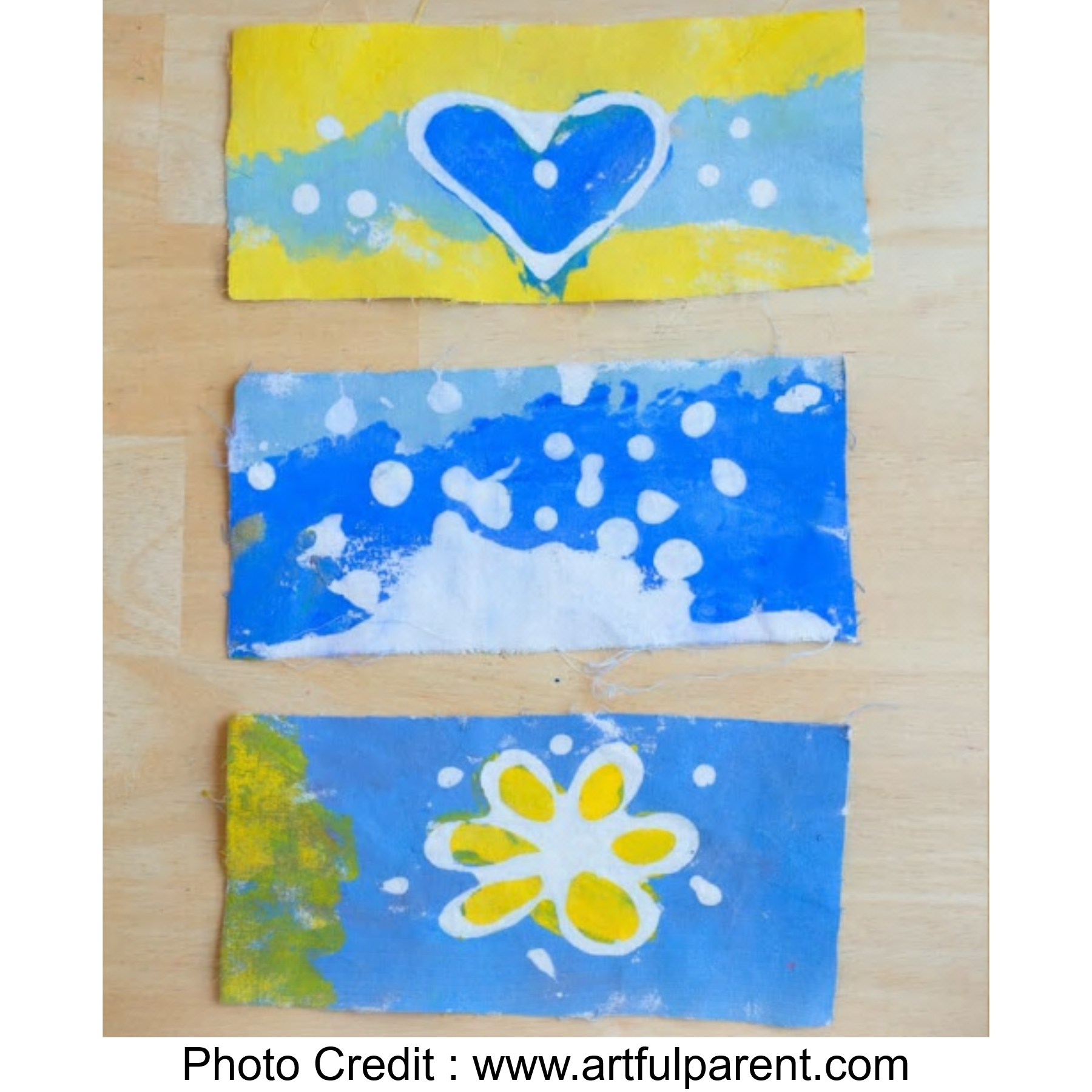 Glue Batik Art from Artful Parent