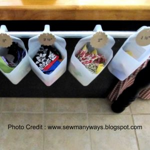 Hanging Storage from Sew Many Ways