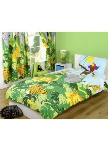 Jungle themed bedding