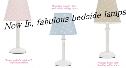 New in! Bedside Lamps